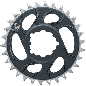 SRAM X-Sync 2 Eagle Chainring 12-speed 6mm Offset DM, lunar/polar grey